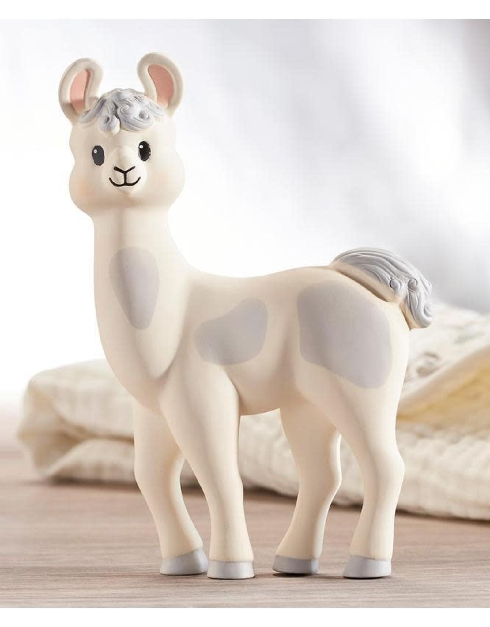 Lil' Llama- Natural Rubber Llama