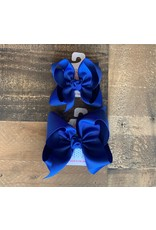 Beyond Creations Beyond Creations- Royal Blue Grosgrain Knot Bow