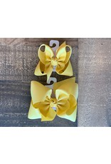 Beyond Creations Beyond Creations- Lemonade Grosgrain Knot Bow