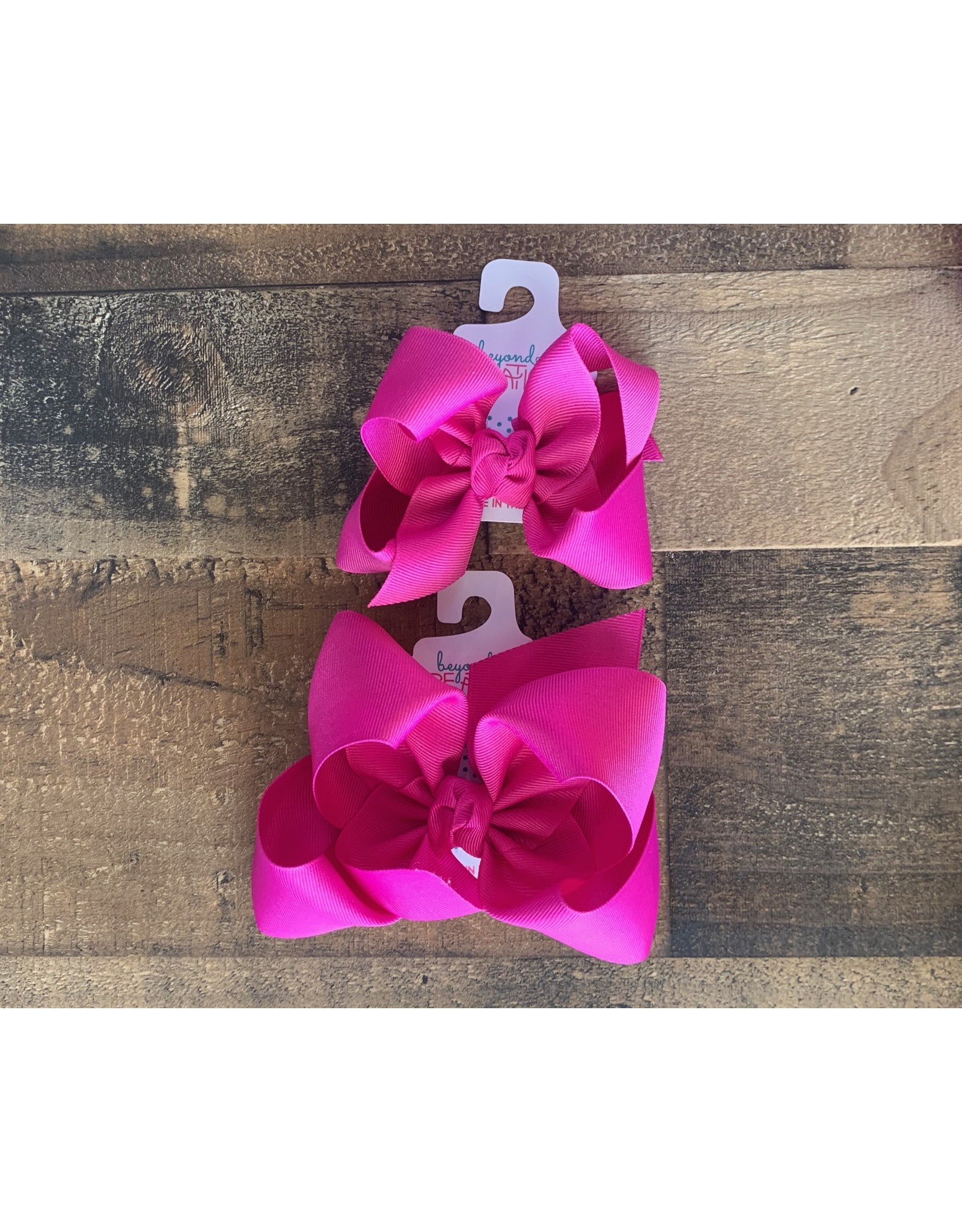 Beyond Creations Beyond Creations- Wild Berry Grosgrain Knot Bow