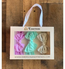 Emerson & Friends- Headband Gift Sets Orchid, Aqua, Grey