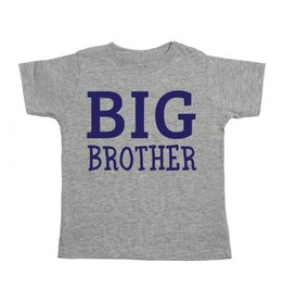 Sweet Wink- Big Brother S/S Shirt- Gray