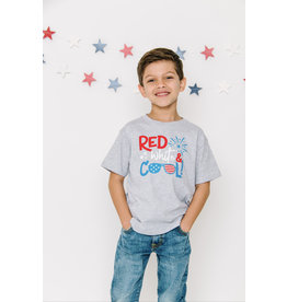 Sweet Wink- Red, White & Cool S/S Shirt