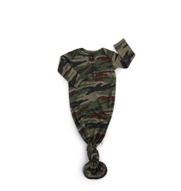 Gigi & Max Gigi & Max- Camo Knotted Button Gown Only