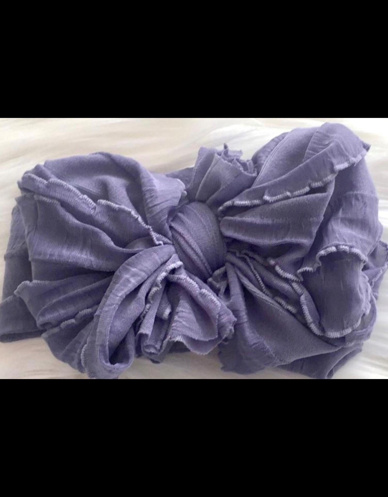 In Awe- Steel Lavender Headband