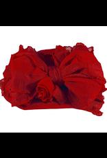 In Awe- Deep Red Headband