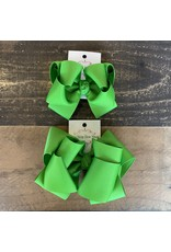 OS- Apple Stacked Grosgrain Bow