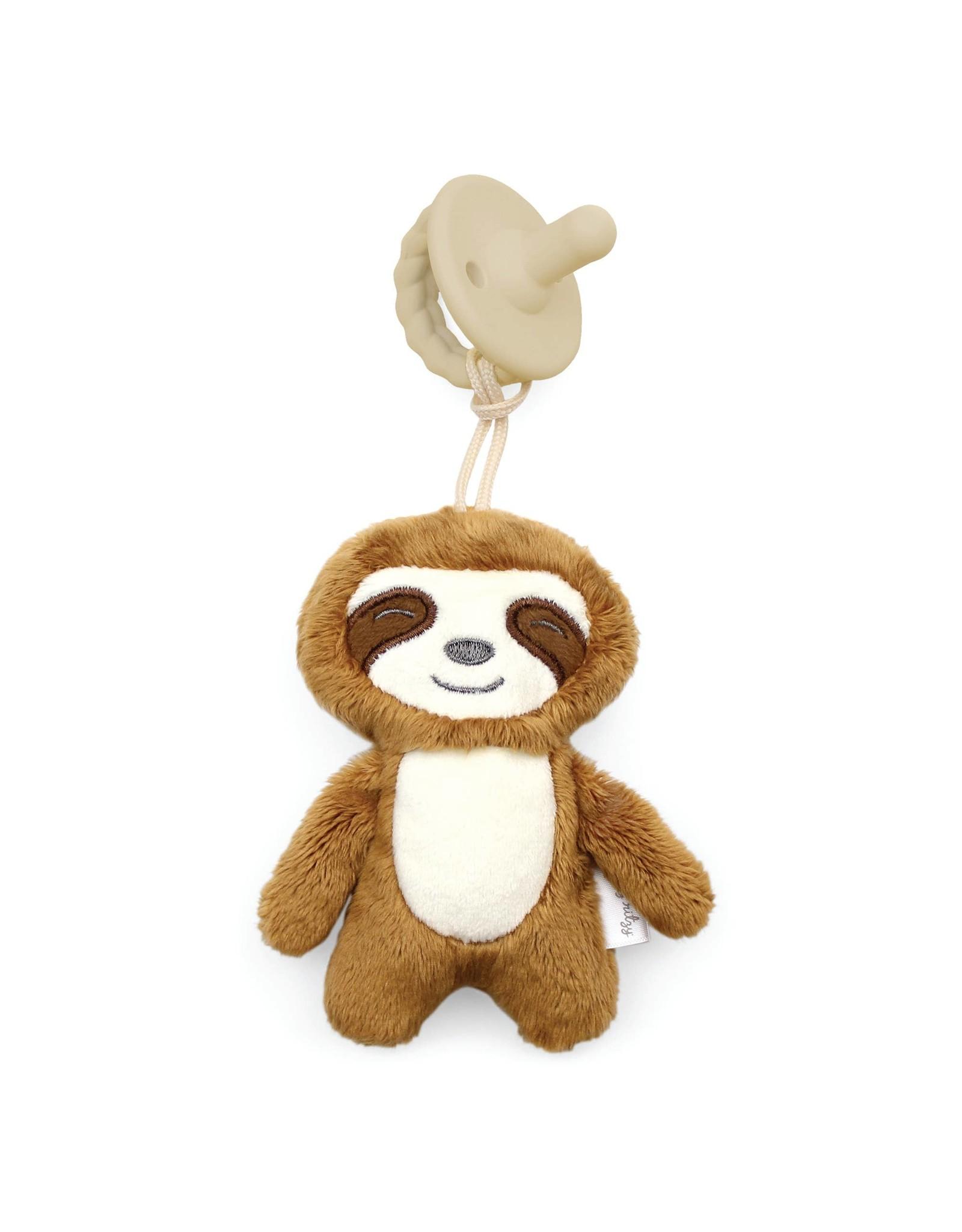 Itzy Ritzy Itzy Ritzy- Sweetie Pal Plush & Pacifier: Sloth