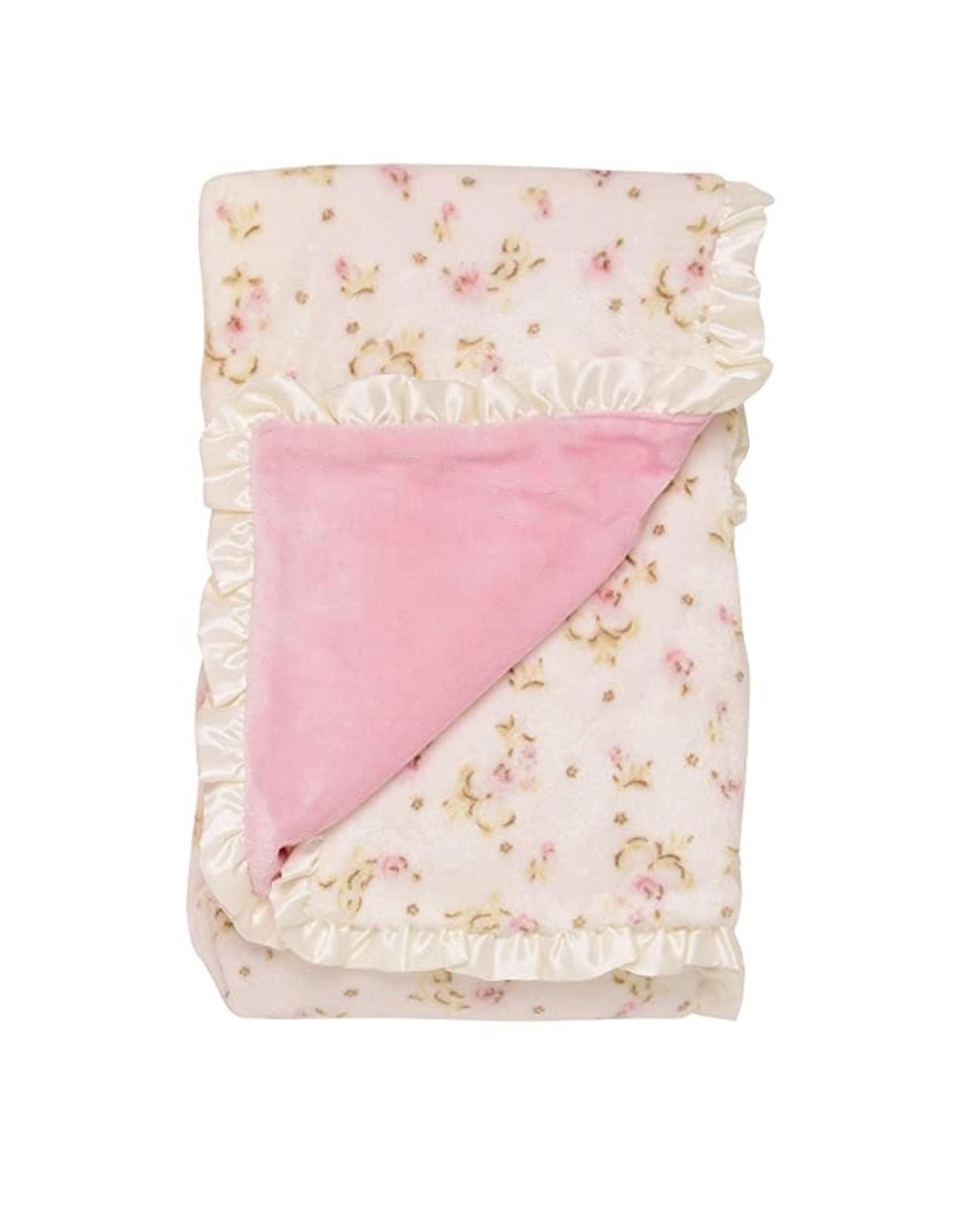 Little Me Little Me - Flower Print Blanket