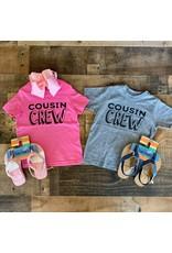 Cousin Crew Shirt: Grey