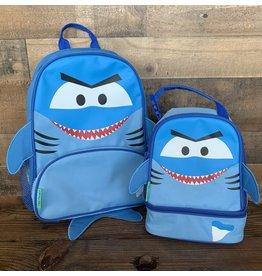 stephen joseph Stephen Joseph - Sidekick Shark Backpack & Lunch Pal Set