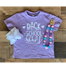Back to School Squad Shirt: Purple