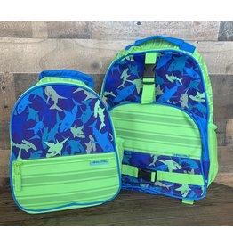 stephen joseph Stephen Joseph - All Over Print Backpack & Lunchbox Set: Shark