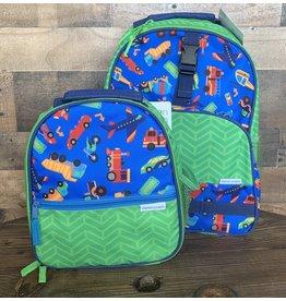 stephen joseph Stephen Joseph - All Over Print Backpack & Lunchbox Set: Transportation