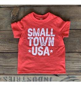 Small Town USA TShirt- Red
