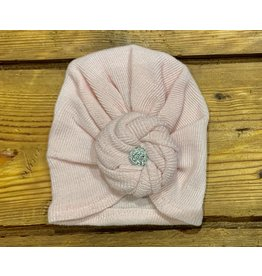 Cradle Cuties - Solid Pink Turban
