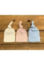 Cradle Cuties - Top Knot Hospital Hat