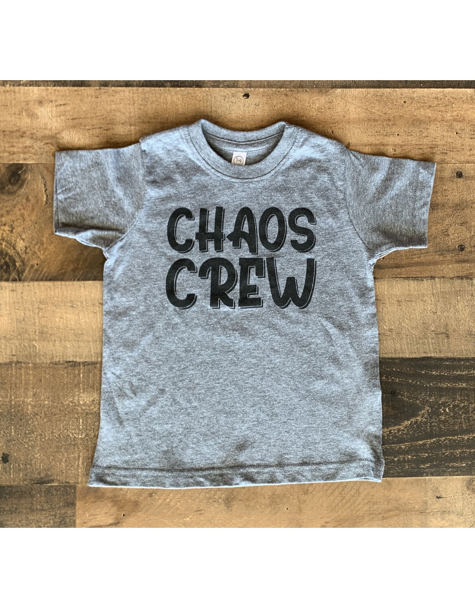 Chaos Crew Shirt: Grey