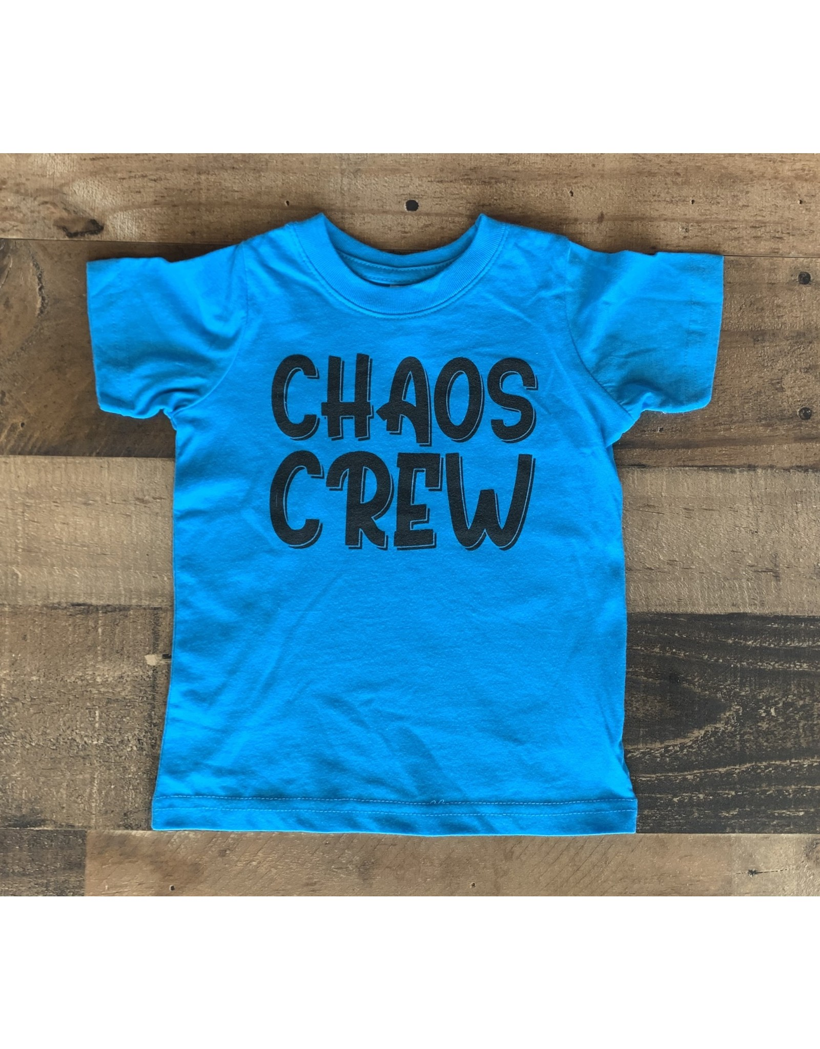 Chaos Crew Shirt: Turquoise