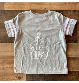 We Rise by Lifting Others Shirt: Heather Grey
