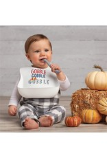 Mudpie Mud Pie- Gobble Silicone Bib