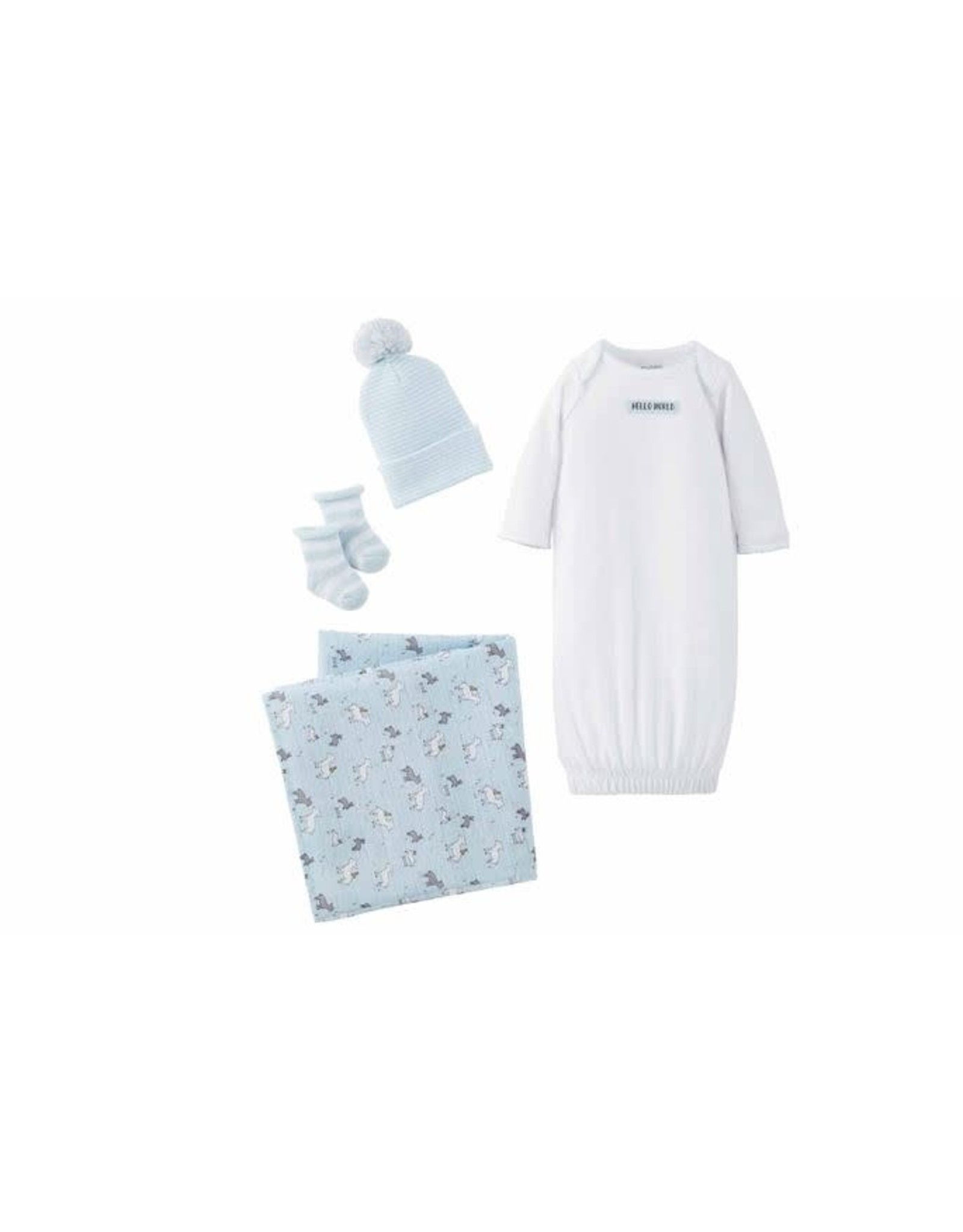 Mudpie Mud Pie- Blue Newborn Take Me Home Set