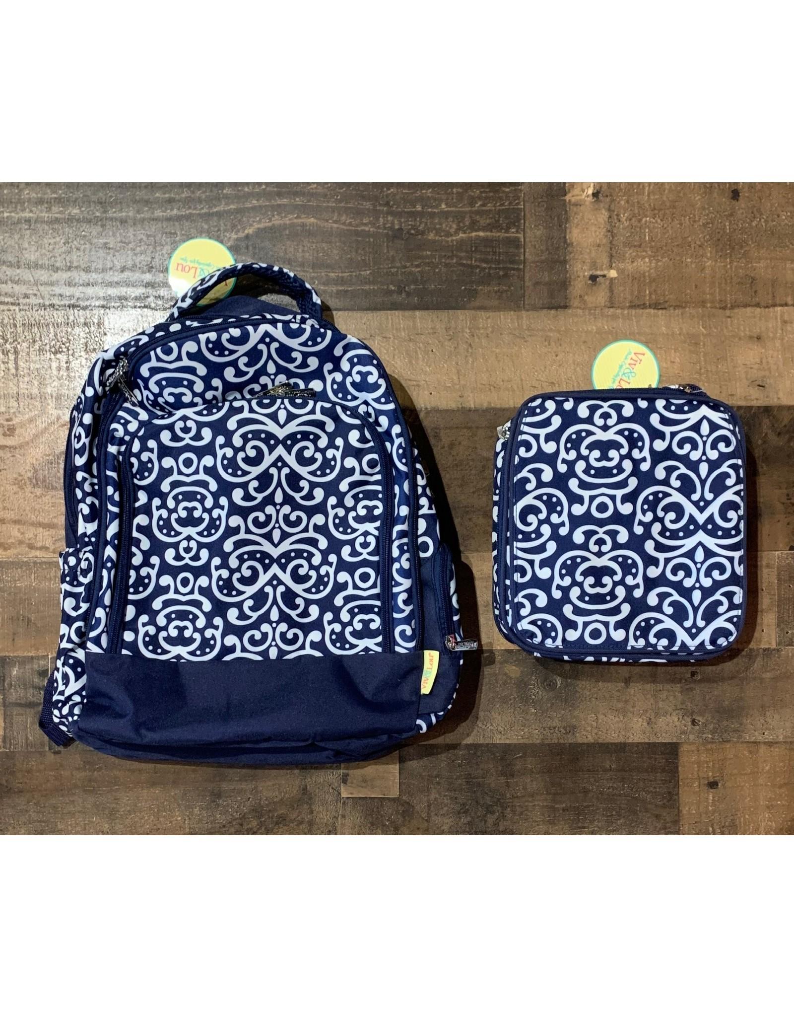 Viv & Lou-Dani Backpack & Lunch Kit Set
