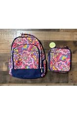 Viv & Lou- Ellison Backpack & Lunch Kit Set