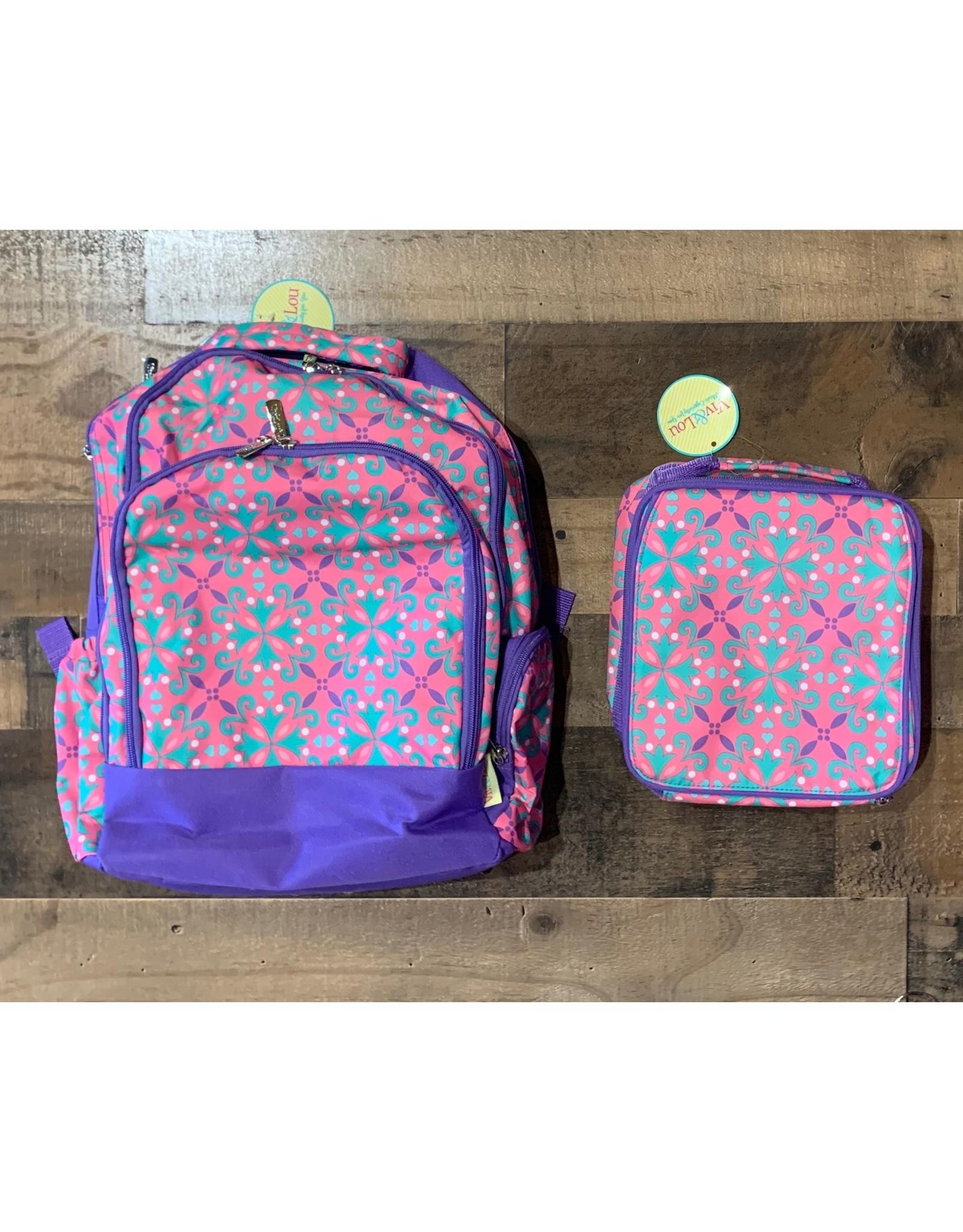 Viv & Lou- Lila Backpack & Lunch Kit Set