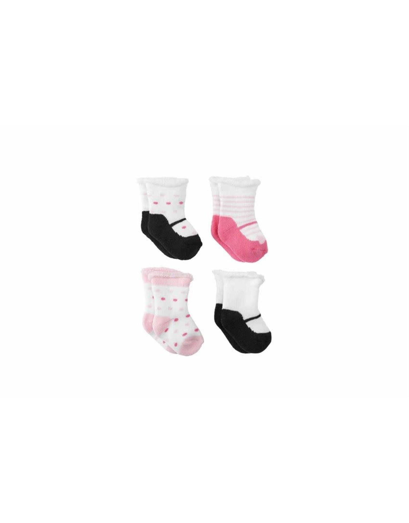 Mudpie Mud Pie - Girl Newborn Sock Set
