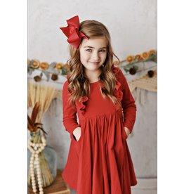 Serendipity Serendipity - Bella Red Pocket Dress