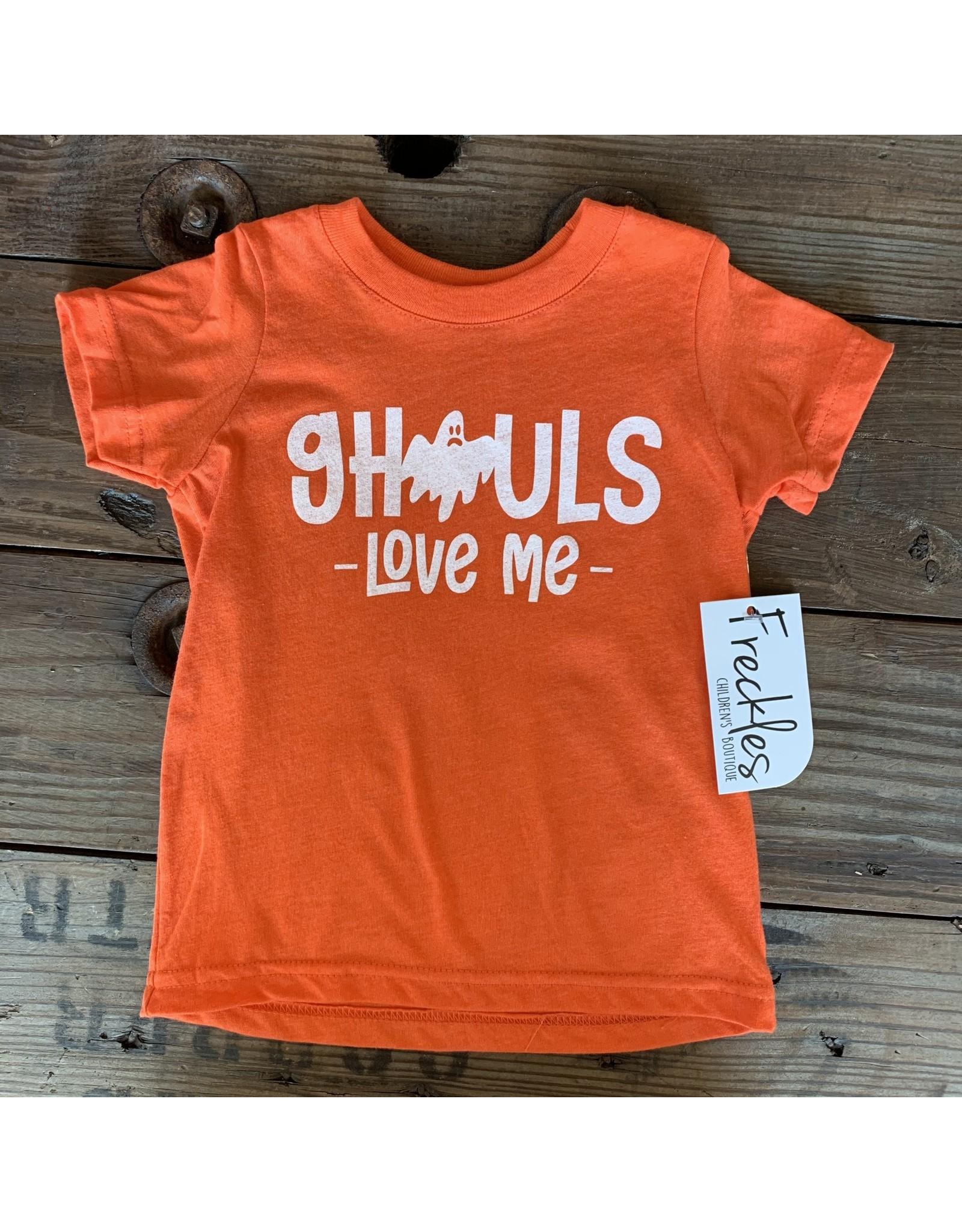 Ghouls Love Me TShirt: Orange