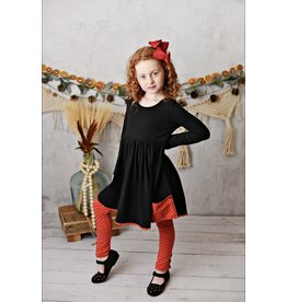 Serendipity Serendipity - Blk/Red Pocket Tunic w/Legging