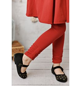 Serendipity Serendipity - Red Ruched Legging