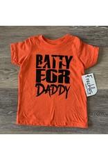 Batty for Daddy TShirt: Orange