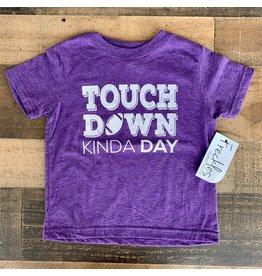 Touch Down Kinda Day TShirt: Purple