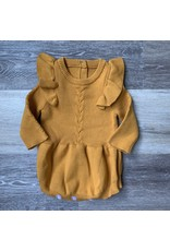 loved by Jade Presley loved by jade presley- Caroline Sweater Romper: Mustard
