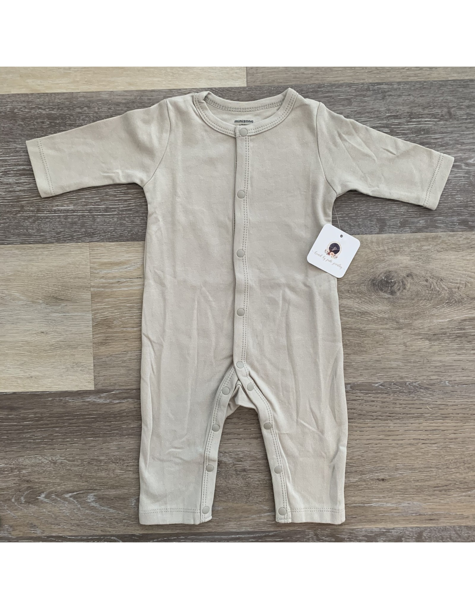 loved by Jade Presley loved by jade presley- Button Coverall: Grey
