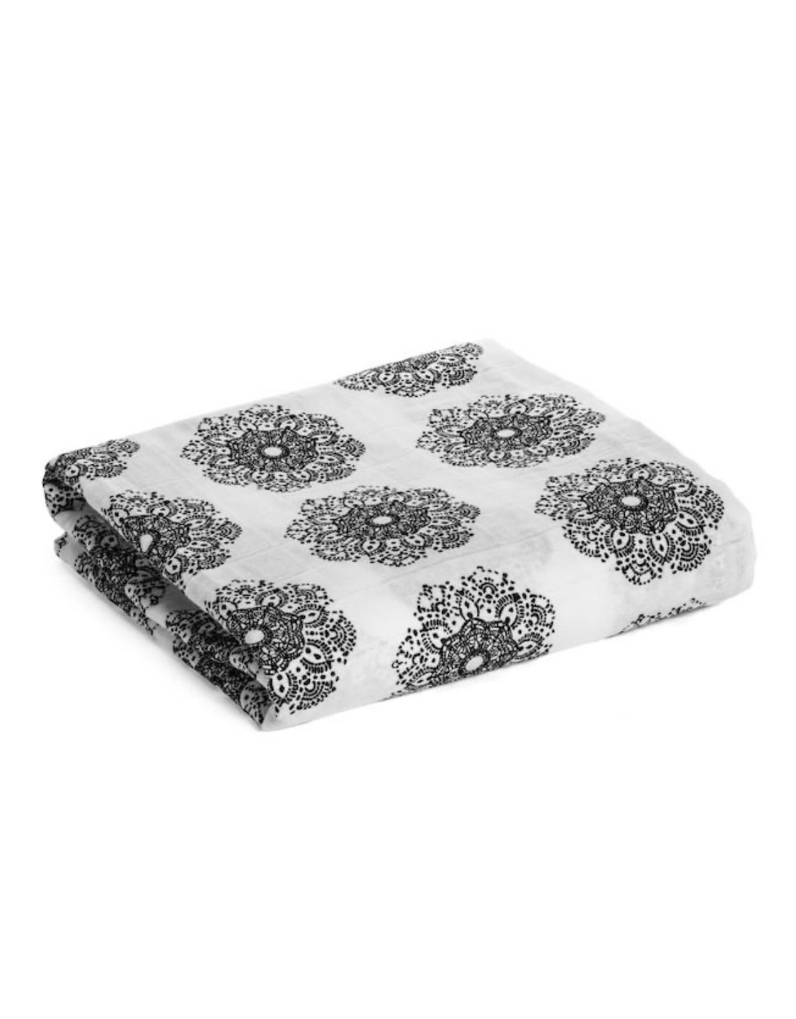 Modern Burlap Modern Burlap- Doily Lace Swaddle