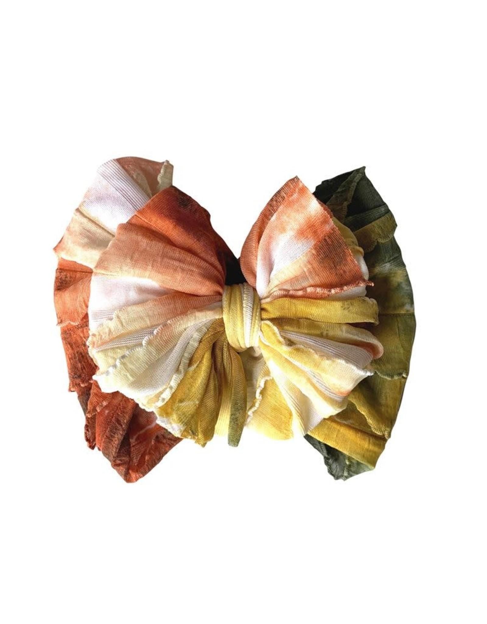 In Awe- Sunset Tie Dye Headband
