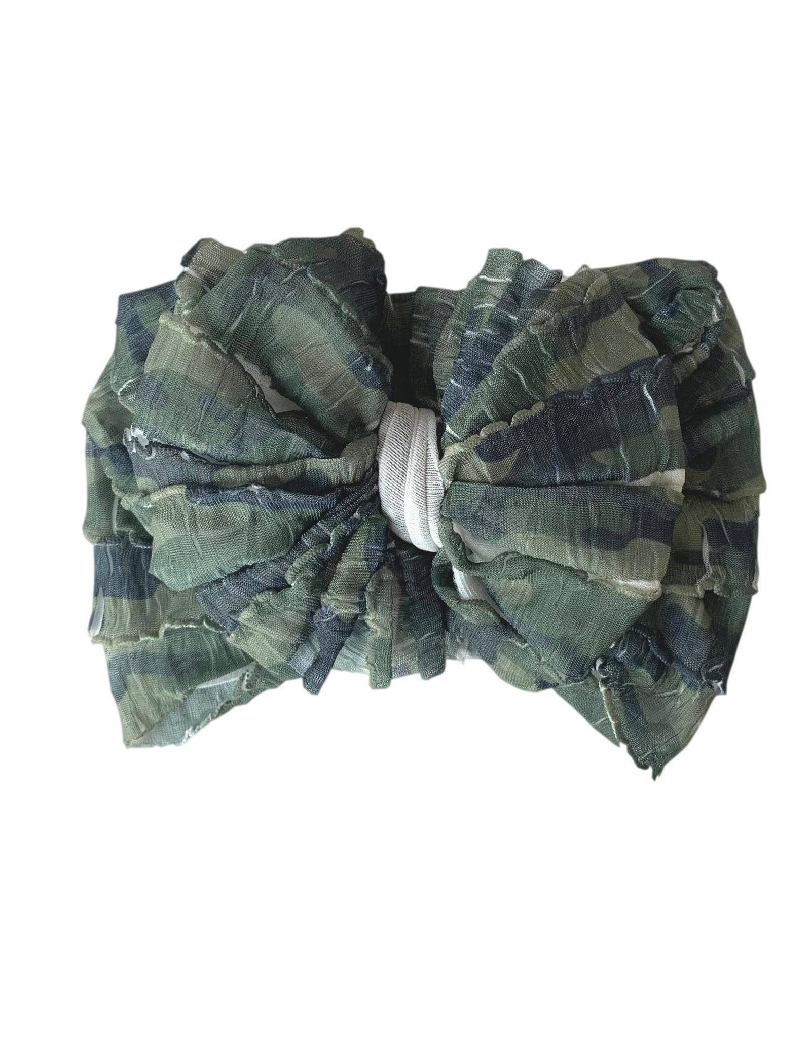 In Awe- Camo Headband