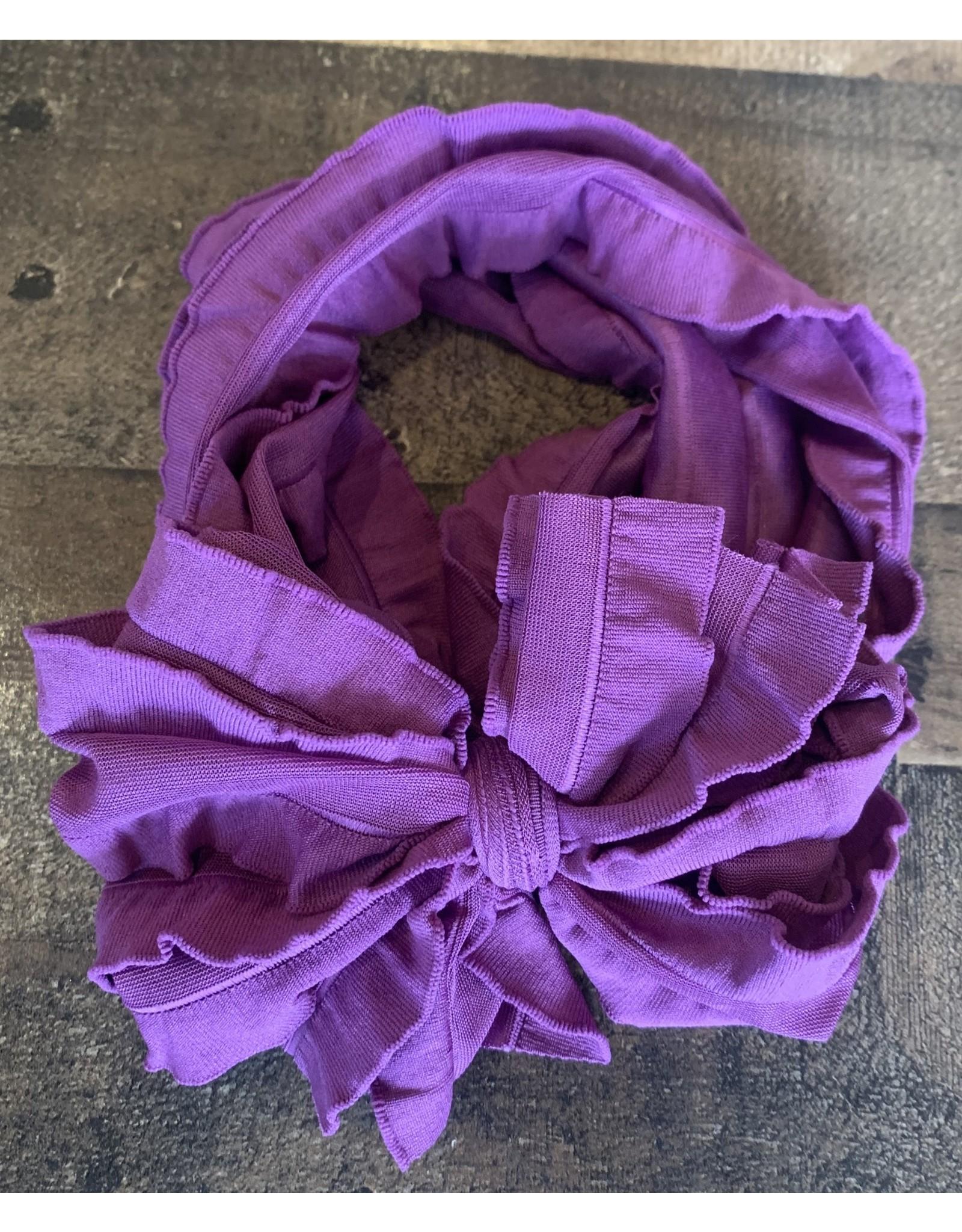 In Awe- Purple Headband