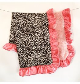 Rockin' Royalty Rockin Royalty- Sunset Leopard Blanket