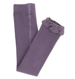 Ruffle Butts Ruffle Butts- Shadow Purple Footless Ruffle Tights