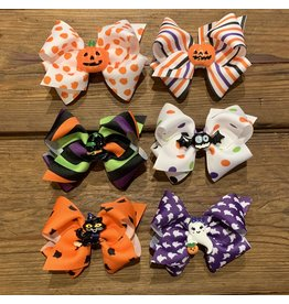 Wee Ones - Small Halloween Bows