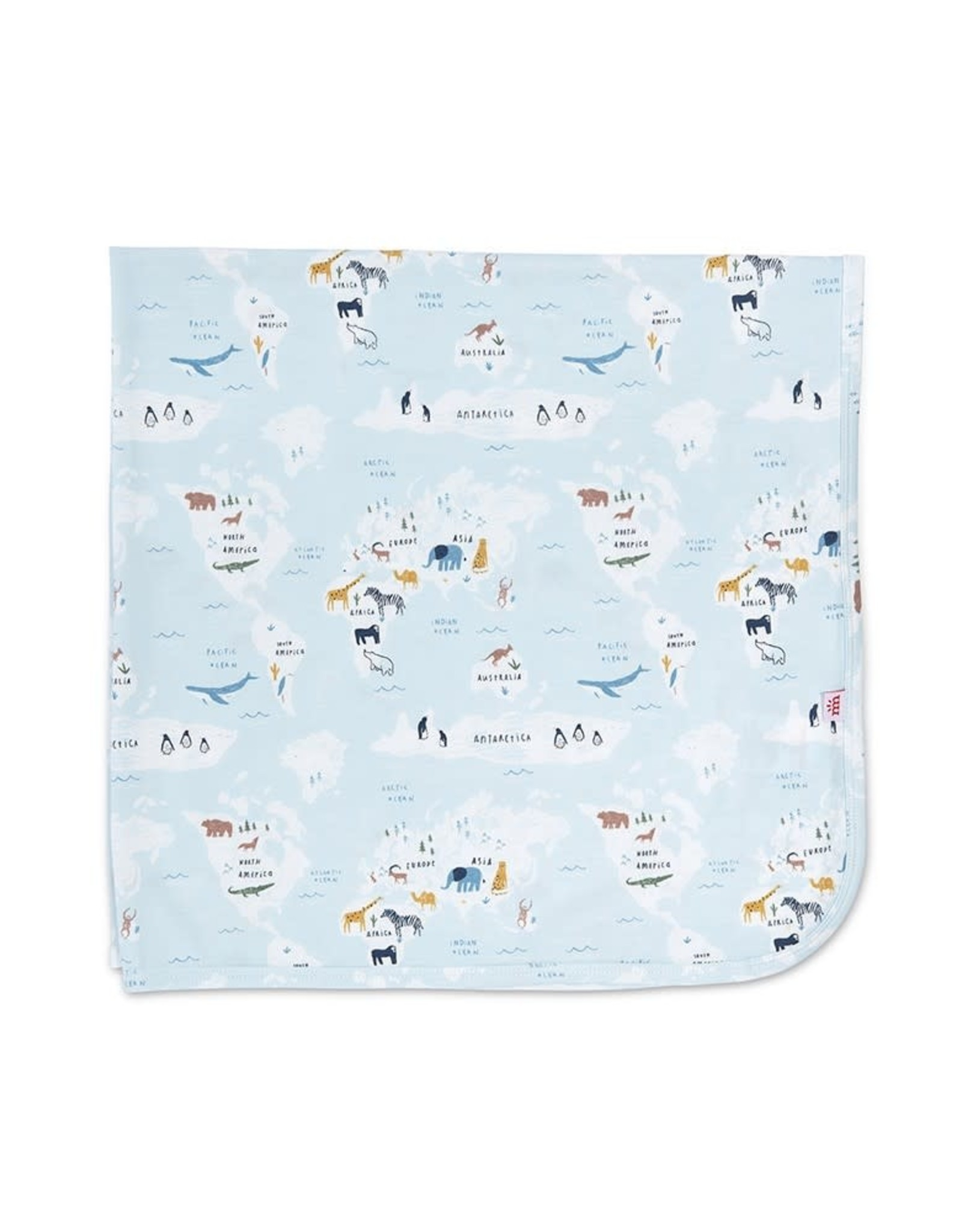 Magnetic Me Magnetic Me- Sea the World Swaddle
