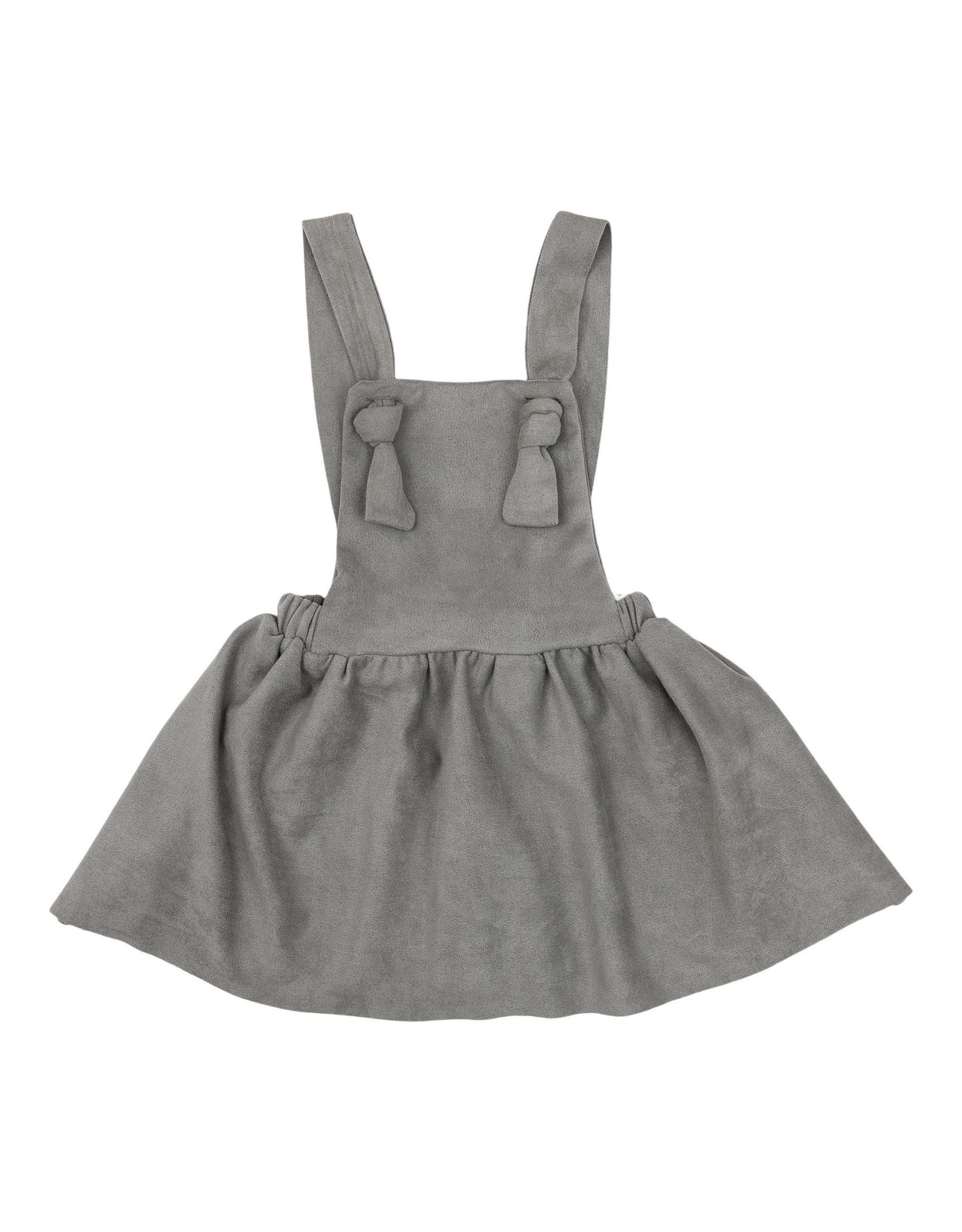 Mila & Rose- Gray Pinafore