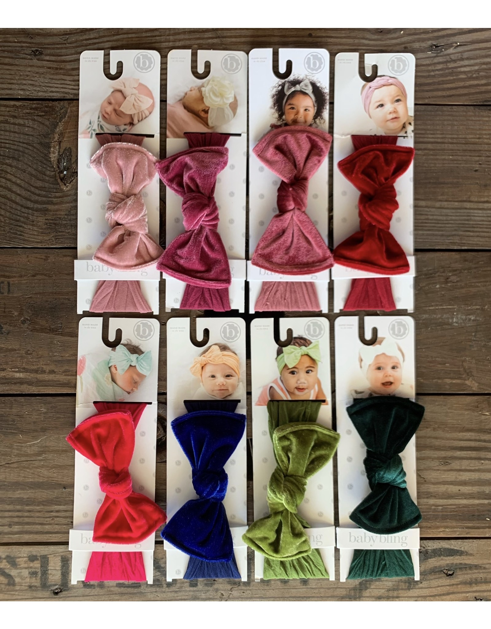 Baby Bling Baby Bling- Velvet Knot