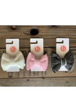 Baby Bling Baby Bling - Ribbed Bow Clip