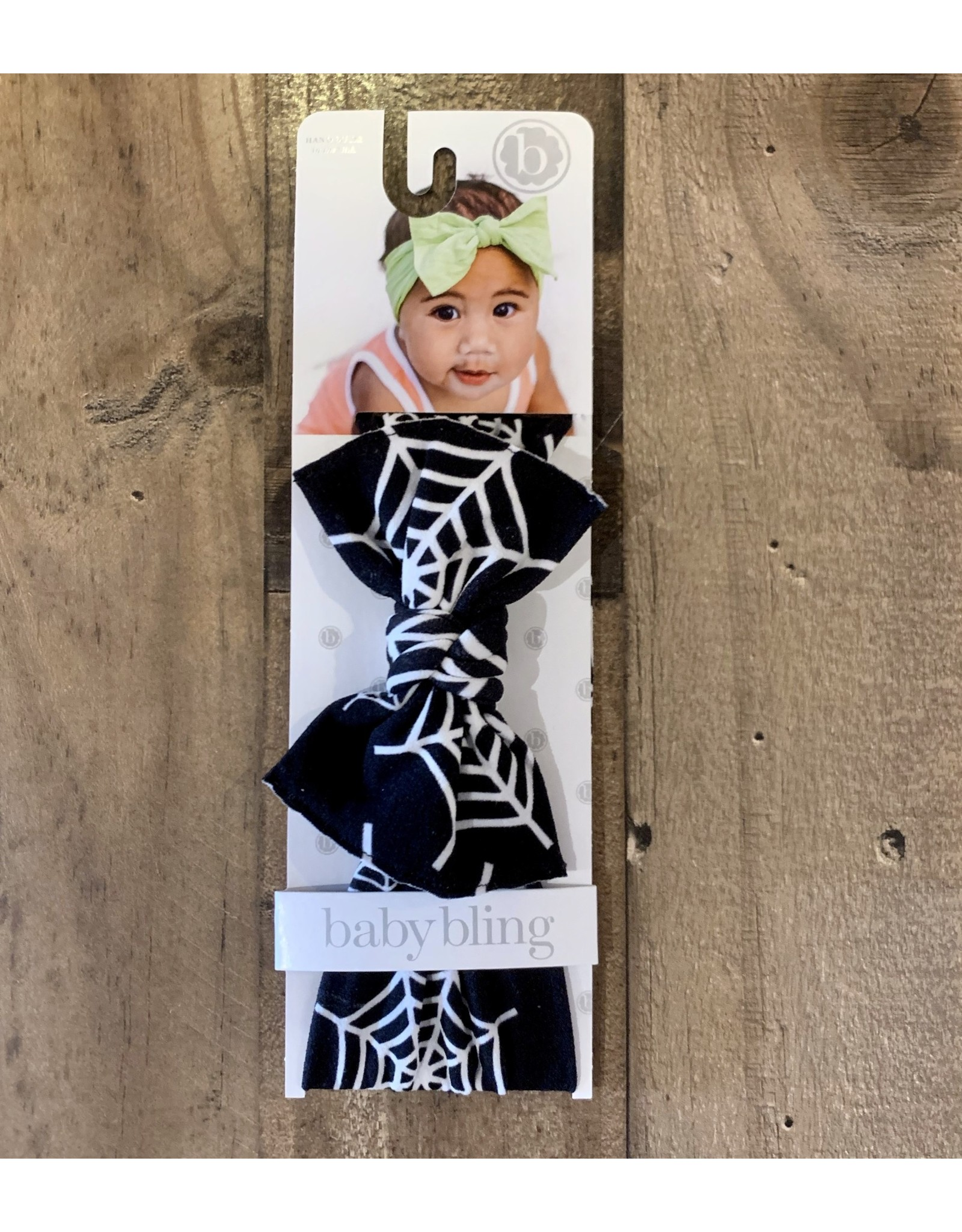 Baby Bling Baby Bling - Printed Knot Web